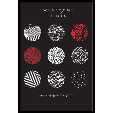 21 Pilots Blurryface Poster Poster (Colorbox Poster)