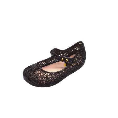Outtop Cute Toddler Baby Kids Jelly Hollow Sandals Flat Shoes Princess Shoes