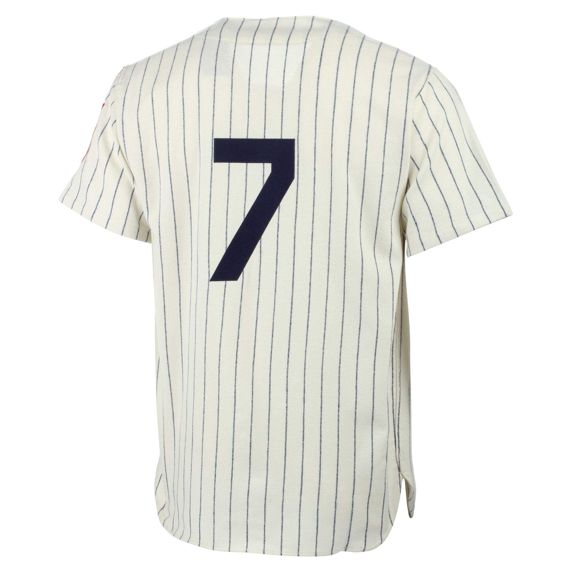 18433a87fb6 Mickey Mantle New York Yankees Mitchell   Ness MLB Authentic Jersey - Cream  - Walmart.com
