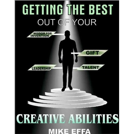 Getting the Best out of your Creative Abilities -