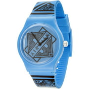 Men's Watch, Blue Silicone Band