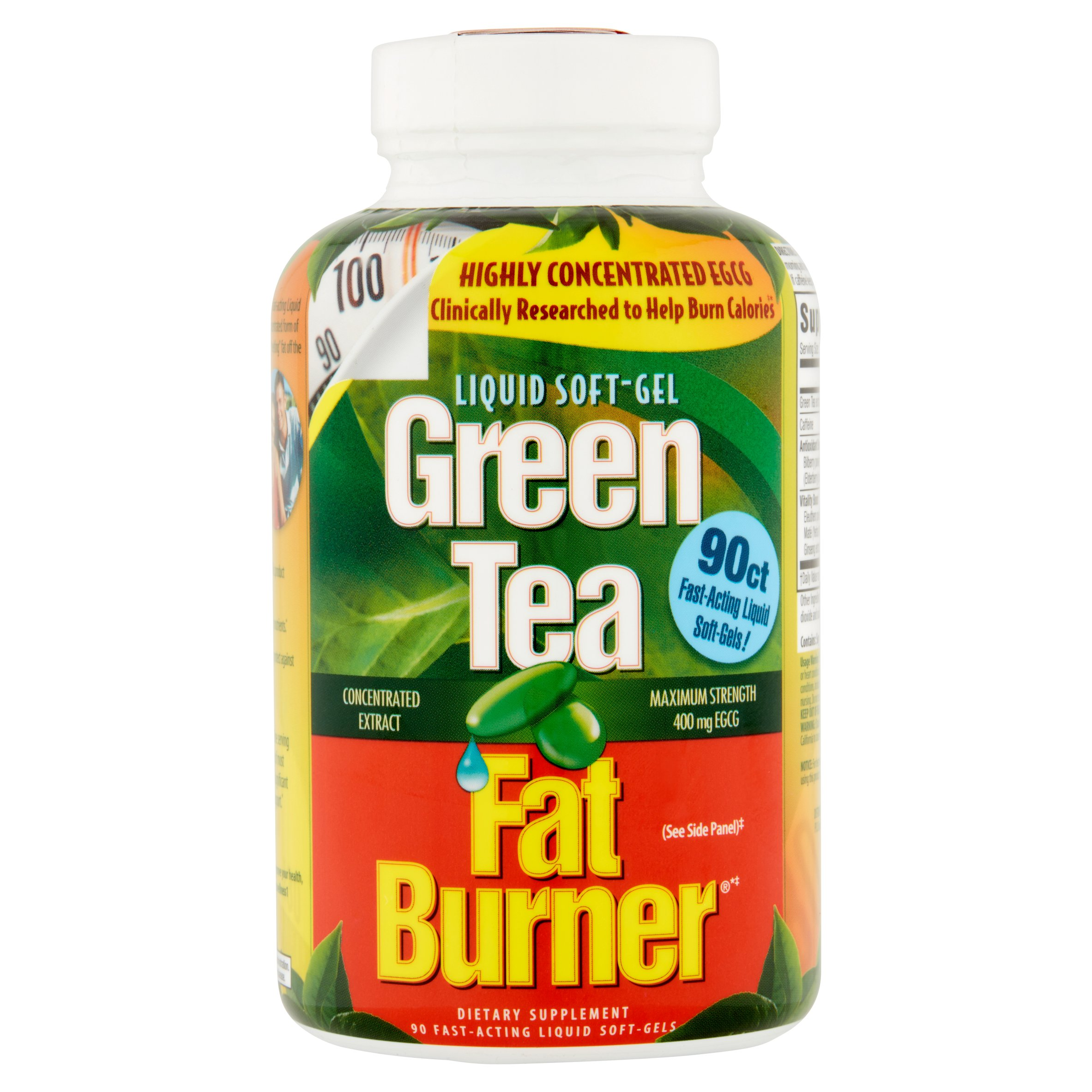 Green Tea Fat Burner Dietary Supplement , 90ct