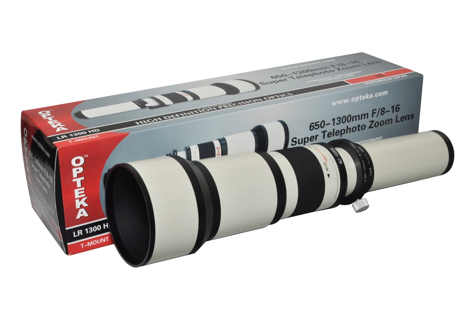 "Opteka 650-2600mm High Definition Telephoto Zoom Lens with 67"" Monopod Kit for Olympus EVOLT E-5, E-520, E-510, E-500, E-450, E-420, E-410, E-400, E-330 and E-300 Digital SLR Cameras"