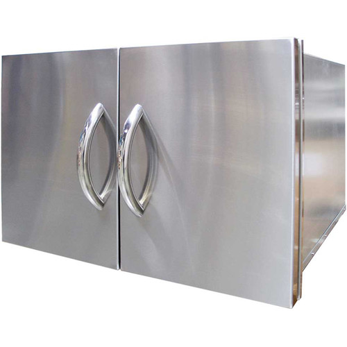 Cal Flame 30'' Built-In Door and Cabinet Combo
