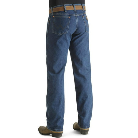 Stonewashed Jeans - Wrangler Mens Original Fit Cowboy Cut Jeans - Stonewashed