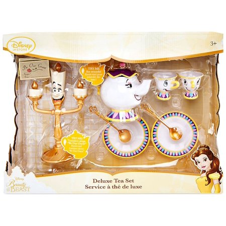 Disney Princess Beauty And The Beast Deluxe Tea Set Playset