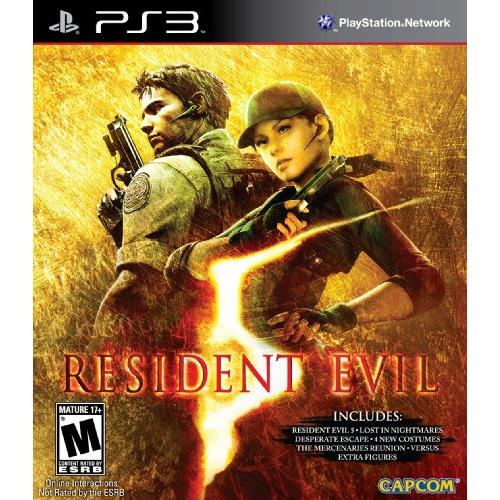 Capcom Resident Evil 5: Gold Edition Action/adventure Game - Playstation 3 (34033)