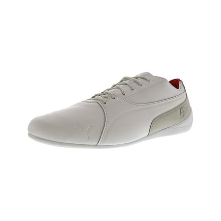 Puma Men s Sf Drift Cat 7 Ls White   Grey Violet Ankle-High Leather Fashion ecde1f0ee