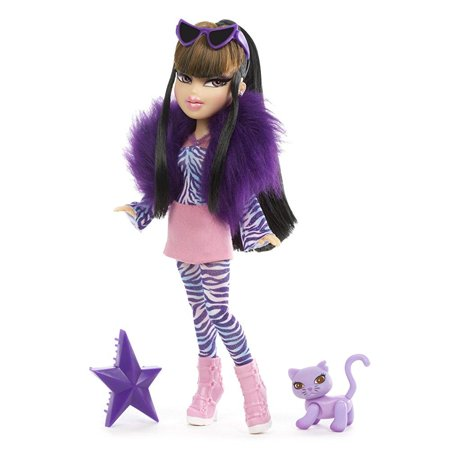 Bratz Catz Jade Doll with Purple Vivi Violet Cat 100's Of Poses
