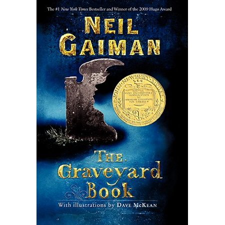 The Graveyard Book - Scary Books For Halloween