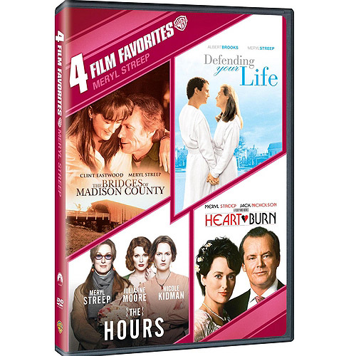 4 FILM FAVORITES-MERYL STREEP (DVD/4FE)