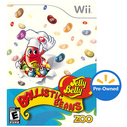 Jelly Belly Ballistic Bean  (Wii) - Pre-Owned
