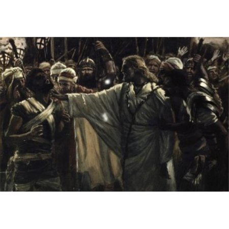 Posterazzi SAL999239 Christ Healing the Ear of Malchus James Tissot 1836-1902 French Poster Print - 18 x 24 in. - image 1 of 1