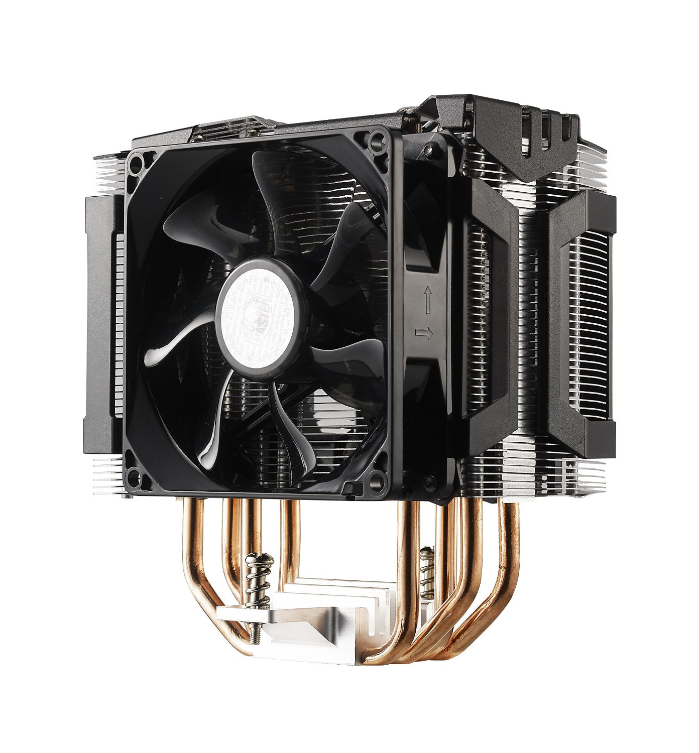 Cooler Master Hyper D92 CPU Air Cooler with Dual 92mm Offset Push-Pull Fans and Accelerated Cooling System... by Cooler Master