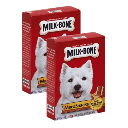 (2 Pack) Milk-Bone MaroSnacks Dog Treats, 15-Ounce (Homemade Halloween Treats For Dogs)