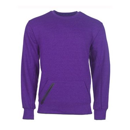 - Russell Athletic Cotton Rich Crewneck Sweatshirt 3XL Purple Heather