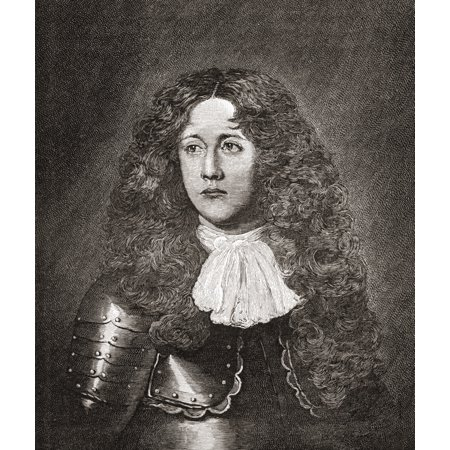 John Graham Of Claverhouse 1St Viscount Dundee C1648 To 1689 Scottish Soldier Nobleman Tory And Episcopalian From The Book Short History Of The English People By JR Green Published London 1893 Canvas