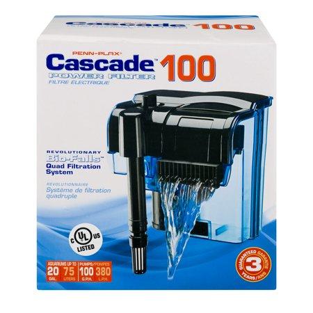 Penn-Plax Cascade 100 Power Filter, 1.0 - Cascade Power Filter