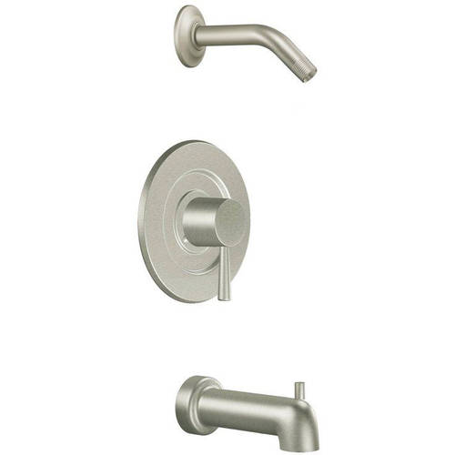 Moen T2703NH Level Bath and Shower Faucet with Posi-Temp Pressure Balanced Trim without Shower Head, Available in Various Colors