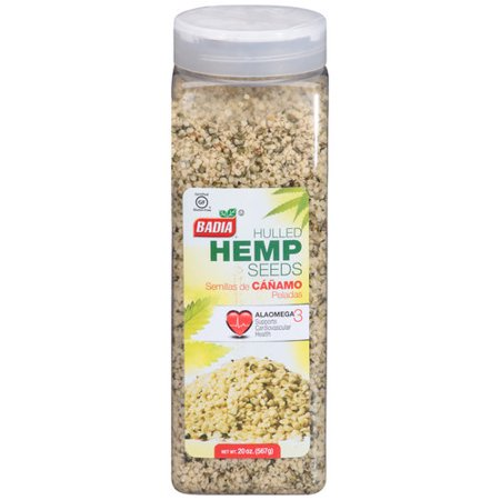 (Badia Hulled Hemp Seeds, 1.3 Lb)