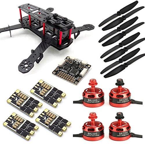 [DIAGRAM_1JK]  SpeedyFPV ZMR250 FPV Racing Drone Kit with F3 Flight Controller, 2205  Motors, 30A ESC 24S - Walmart.com - Walmart.com   Zmr 250 Wiring Harness Diy      Walmart
