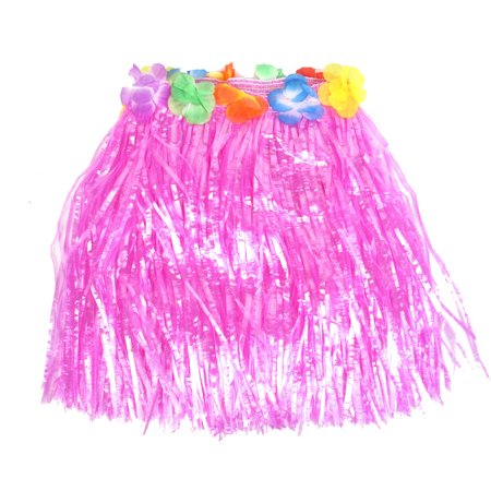 Halloween Costumes Decorations (Unique Bargains Women  Halloween Costumes Hawaiian Grass Hula Skirt Decorations)