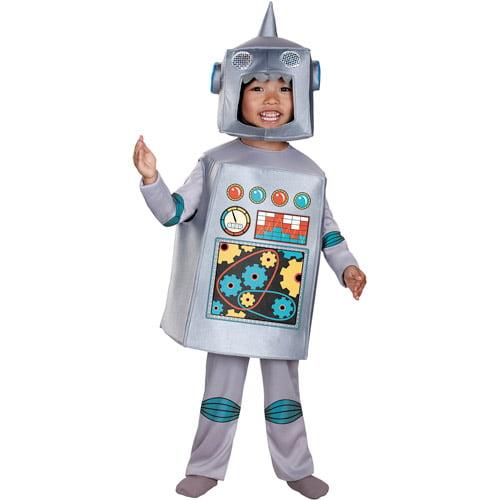 Retro Robot Toddler Halloween Costume