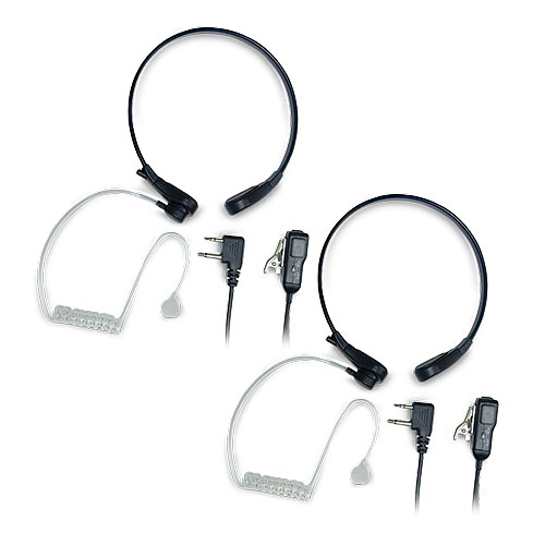 Midland AVP-H8 Throat Mic (2 Pack) Action Throat Mic