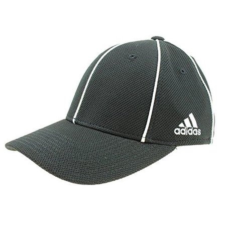 Adidas Black Wristband (Adidas Men's Structured Fit Max Flex Hat, Black)