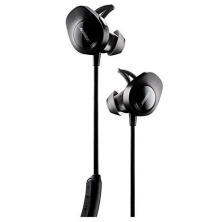 Bose SoundSport Wireless Headphones - Black - Walmart.com ca5b85ebcf81