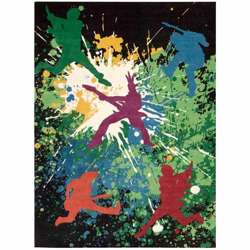"Nourison ""Alter State"" Contemporary   Vibrant Area Rug by Nourison"