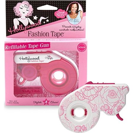 Fashion Tape Gun, Floral, Adhesive dispenser By Hollywood Fashion Secrets - Hollywood Tape