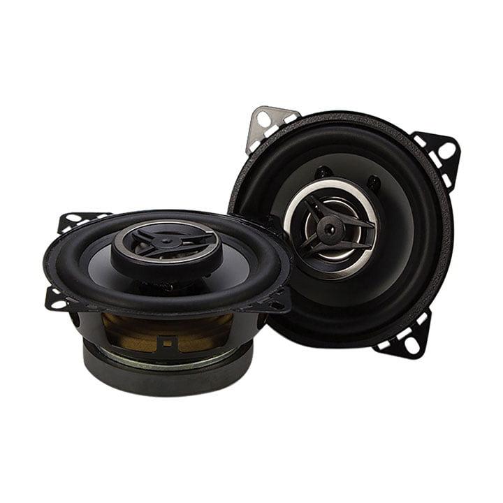 "Crunch CS4CX CS Series Speakers, 4"", Coaxial, 200 Watts Max"