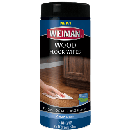 Weiman Wood Floor Wipes Quickly Clean Floors Baseboards And