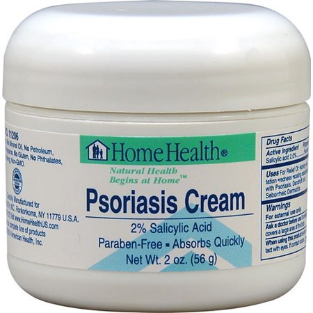 Home Health crème psoriasis, 2 Oz