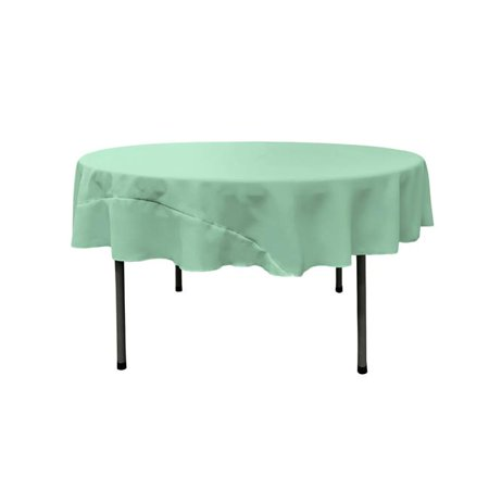 TCpop72R-MintP44 Polyester Poplin Tablecloth, Mint - 72 in. Round - image 1 of 1