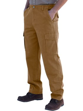 Boulder Creek Men's Big & Tall Renegade Cargo Pants With Side Elastic