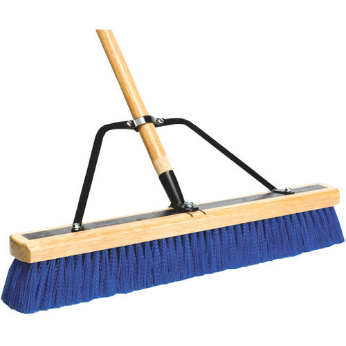 "DQB Industries 24"" Contractor Push Broom"