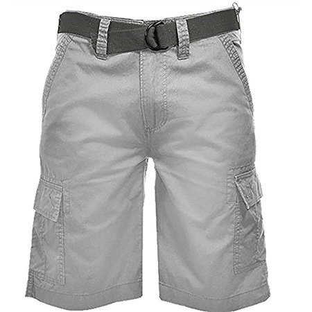 wearfirst mens cargo short with belt, variety (38, high (Short Rise)