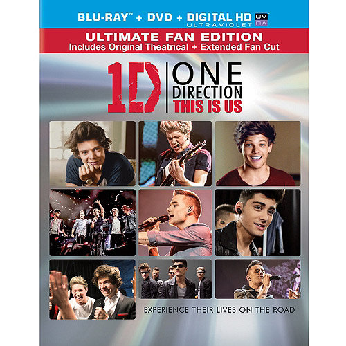 One Direction: This Is Us (Ultimate Fan Edition) (Blu-ray + DVD + Digital HD) (With INSTAWATCH) (Widescreen)
