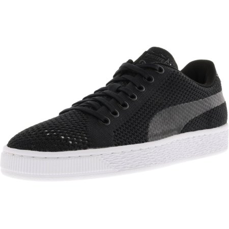 0c10a52f98b Puma Men s Basket Classic Evoknit Black   Ankle-High Fabric Fashion Sneaker  - 13M ...