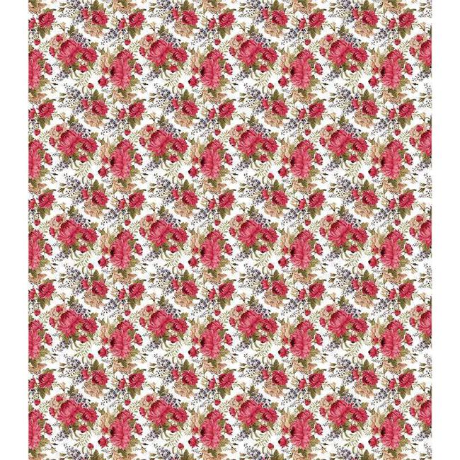 Decoupage Papers 13.75 x 15.75 in. 3 Pack - Red Peony