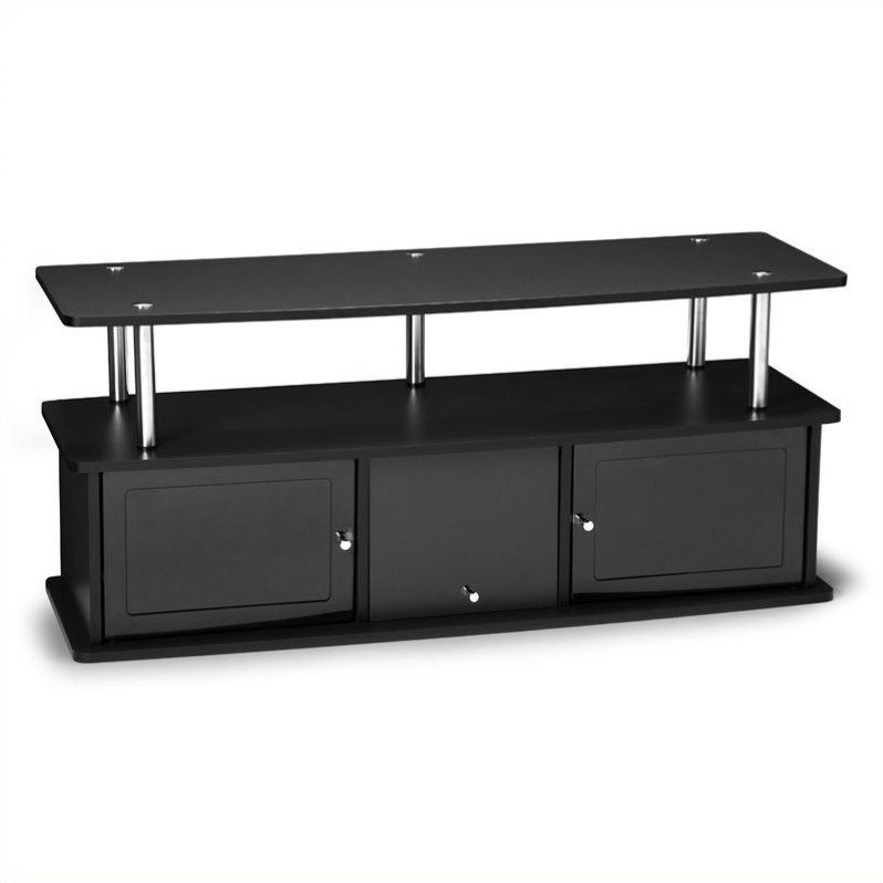 """Convenience Concepts Designs2Go 48"""" 3 Cabinet TV Stand in Black - image 1 of 2"""