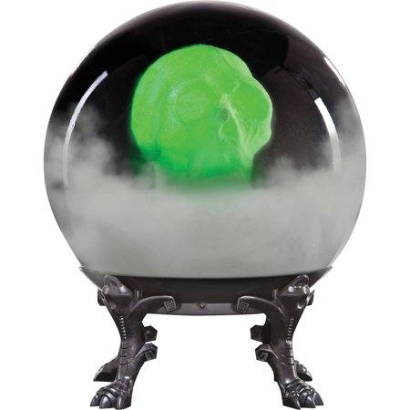 Crystal Ball with Phantom Skull Halloween Decoration - Halloween Balls Dublin