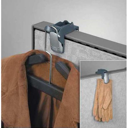 Coat Hook and Clip, Black While you're shopping for clothing hangers, don't miss out on our great selection of shoe racks, clothing racks, closet organizers, and closet systems. Here are some important details for Fellowes Coat Hook and Clip. Color: Black, Material: metal.