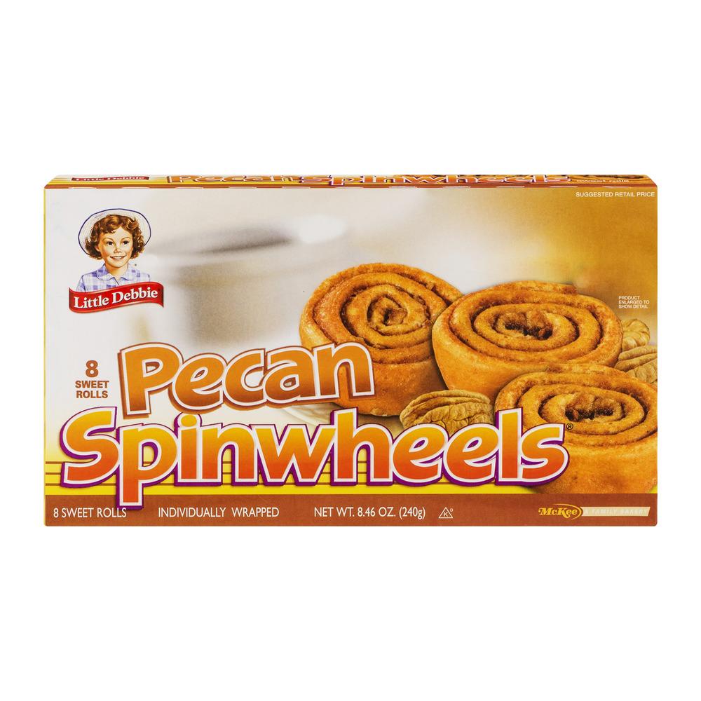 Little Debbie Pecan Spinwheels - 8 CT