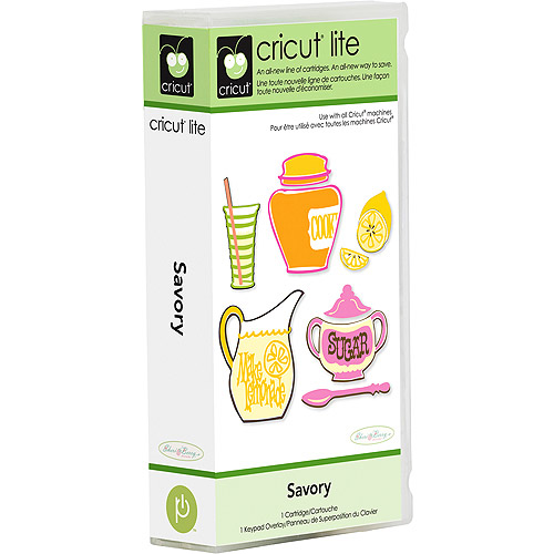 Cricut Lite Cartridge, Savory