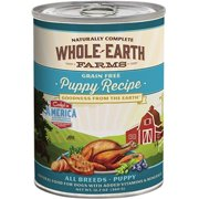 Whole Earth Farms Grain Free Puppy Recipe