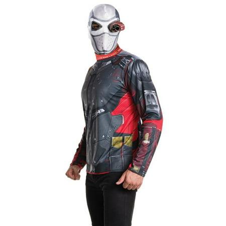 Morris Costumes RU810998XL Suicide Squad Deadshot Adult Kit Costume, Extra Large - Deadshot Costume