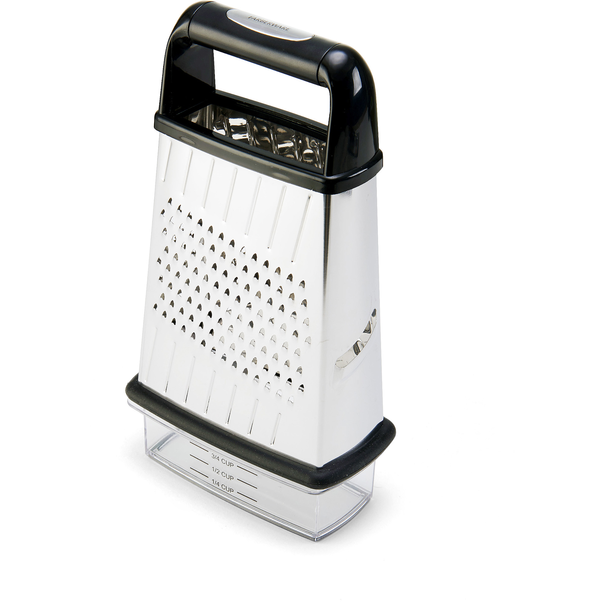 Farberware Professional Slim Box Grater with 2 Cup Storage Container